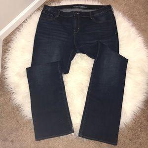 Jeans, boot cut.